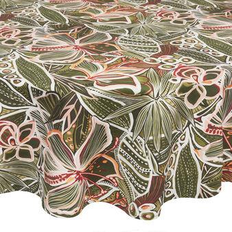 Tovaglia rotonda puro cotone stampa amazzonia