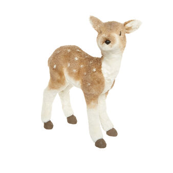 Decorative deer soft toy