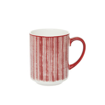 Mug new bone china Magenta