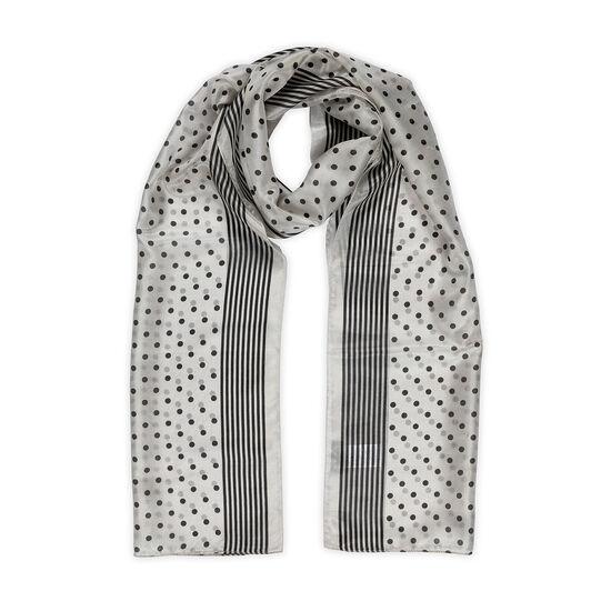 Koan polka dot foulard in pure silk