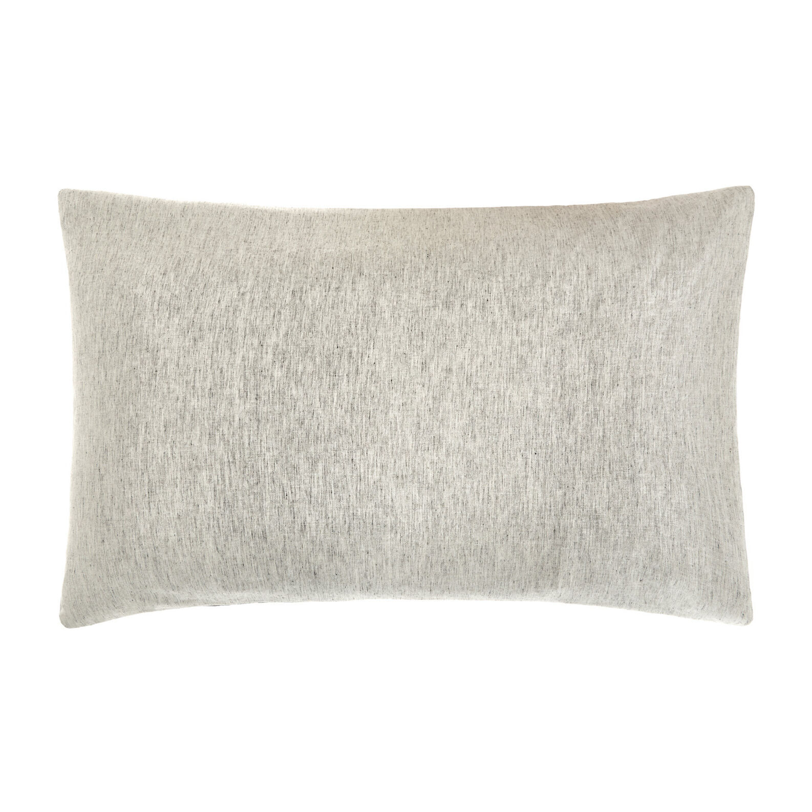 Mélange-effect washed linen blend pillowcase