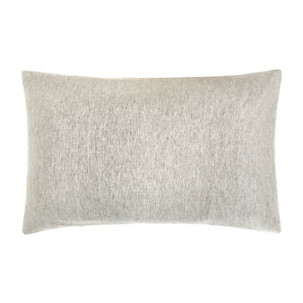 Mélange-effect washed linen blend pillowcase