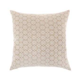 Jacquard cushion with edelweiss motif 45x45cm
