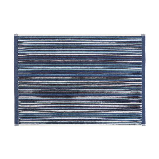 Asciugamano cotone velour fantasia righe multicolor