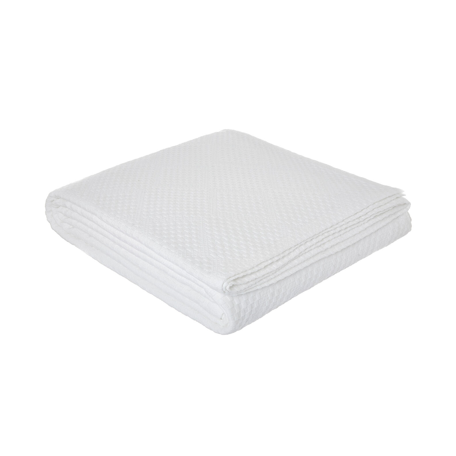 100% cotton bedspread with rhombus motif