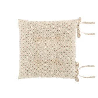 Cuscino da sedia puro cotone stampa fiorellini