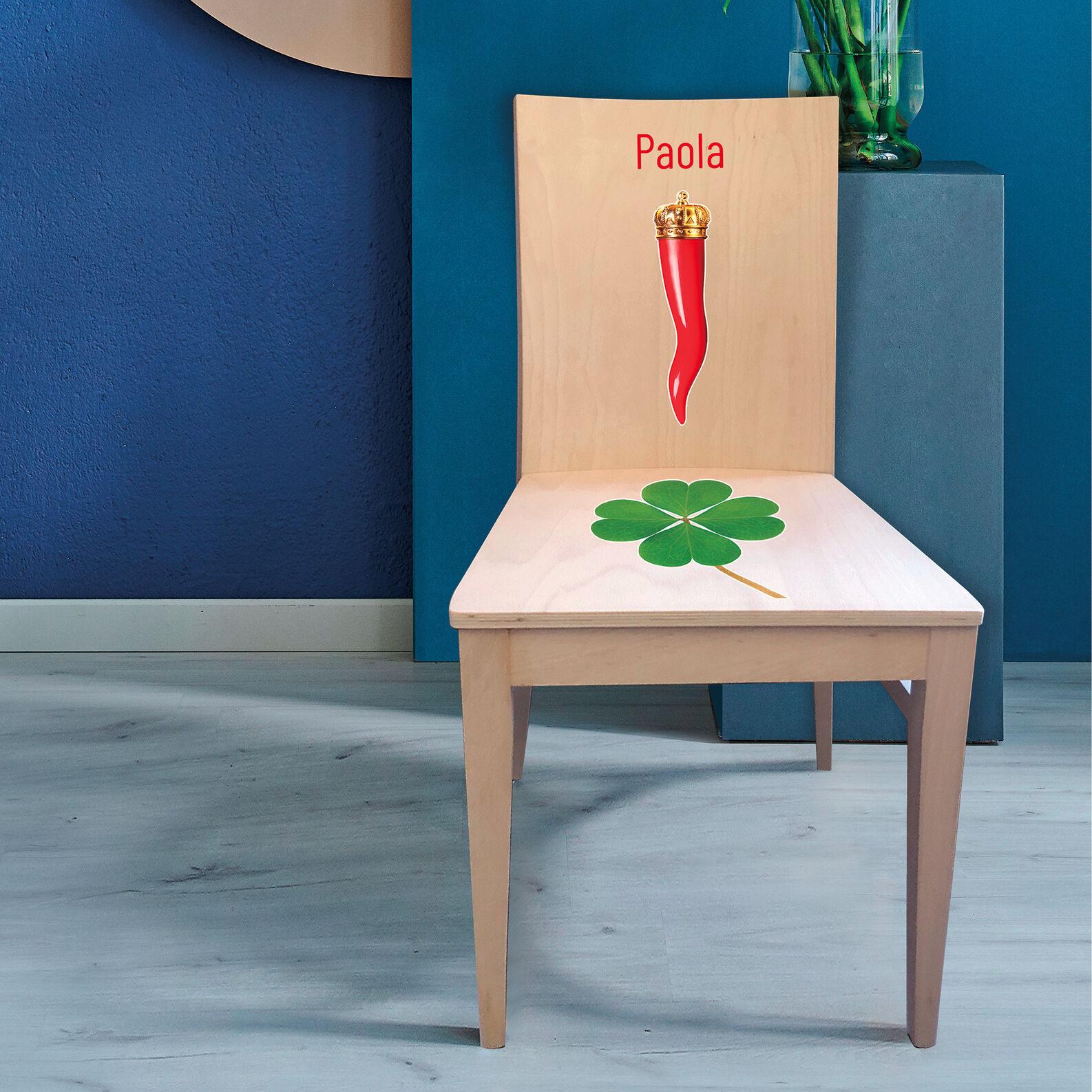 Fortune chair customizable by Nicoletta Poli