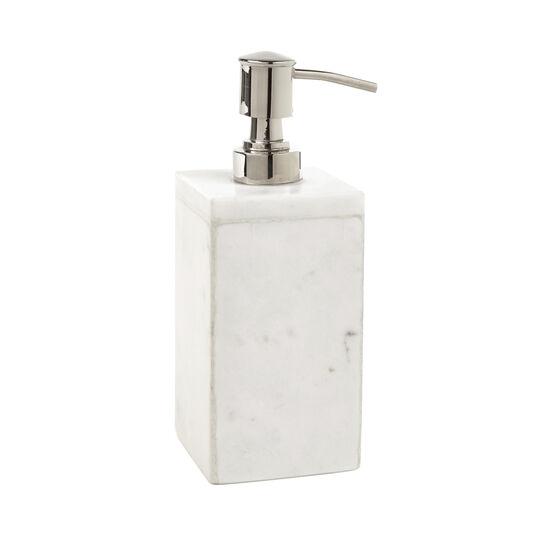 Dispenser sapone Marmo Bianco