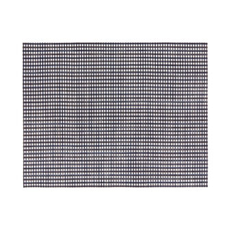 Rectangular mesh table mat