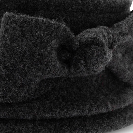 Koan pure wool hat with bow