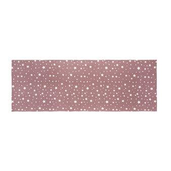 Cotton mat with stars motif