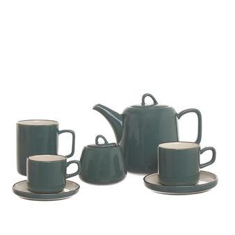 Linea colazione in stoneware bicolore