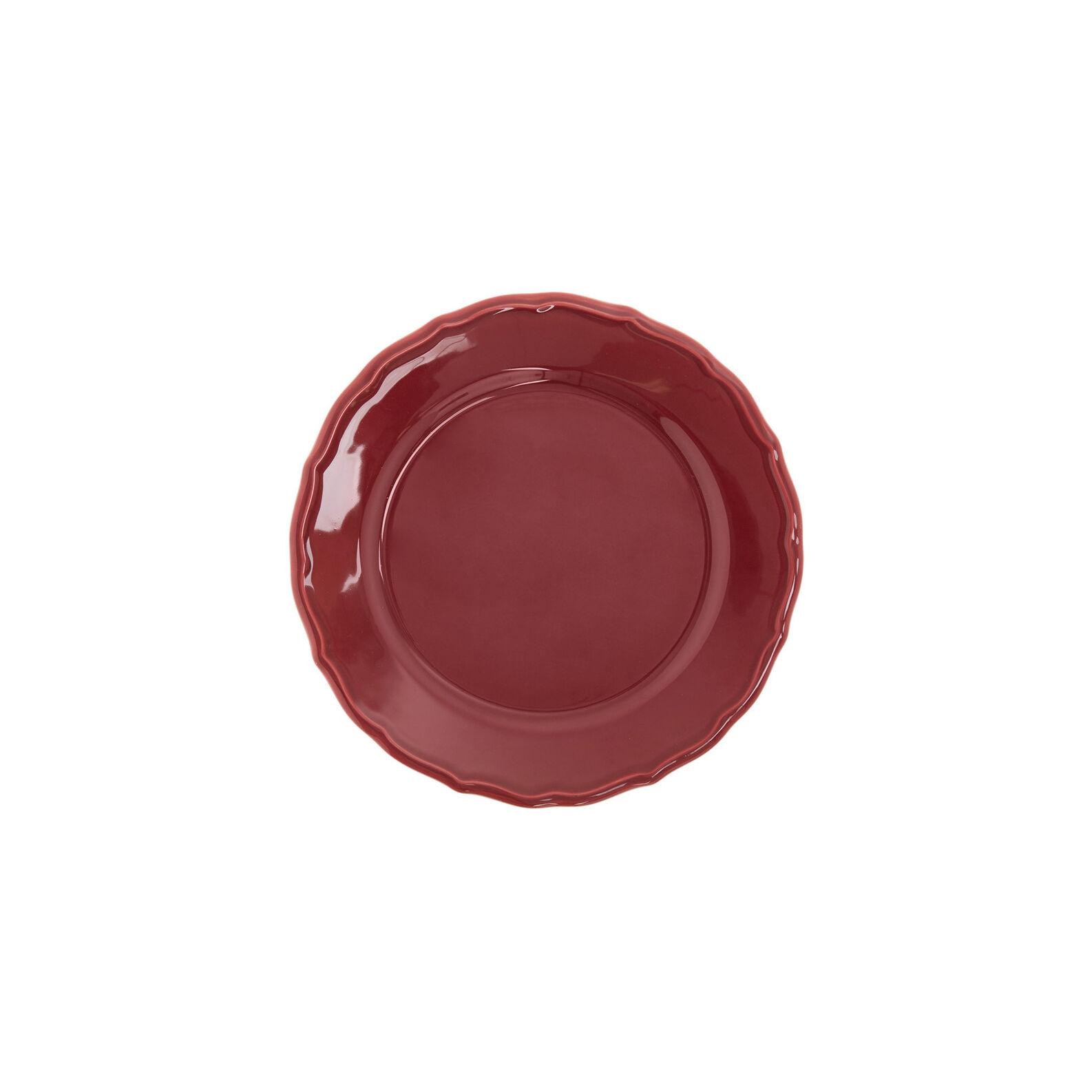 Dona Maria side plate in glazed ceramic