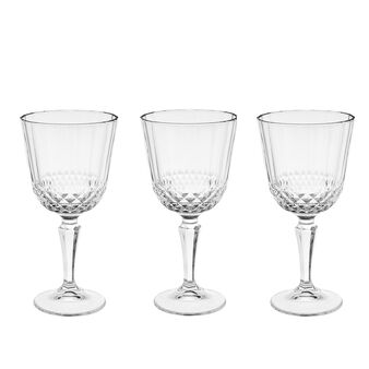 Set of 3 Diony water goblets