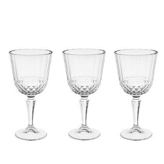 Set 3 calici acqua vetro Diony