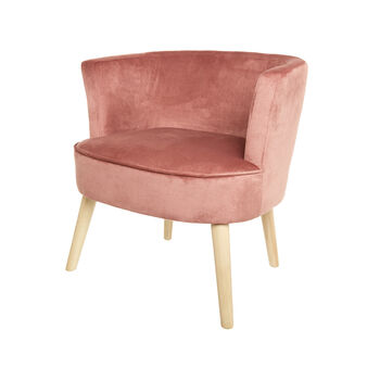 New Juju armchair in velvet