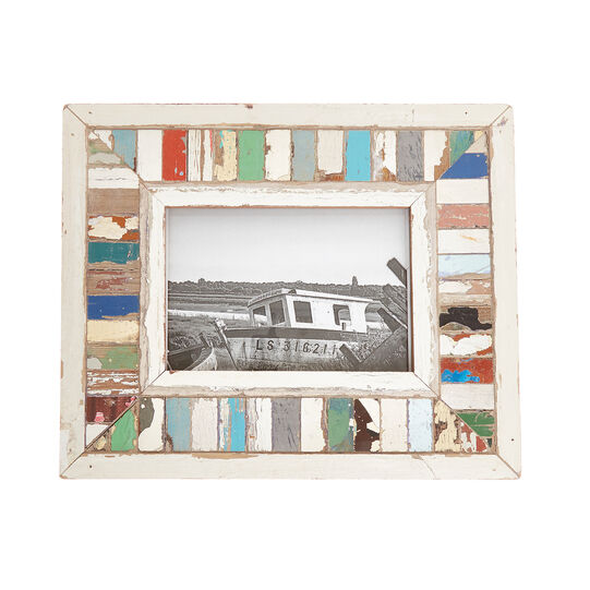 Photo frame in recovered South African wood