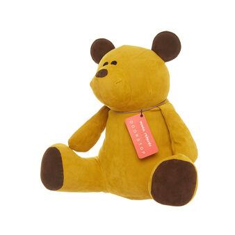 Teddy bear doorstop by Monica Richards London