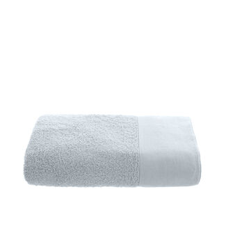 Solid colour organic cotton bath towel
