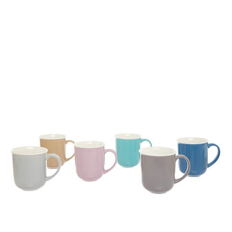 Solid colour mug in new bone China