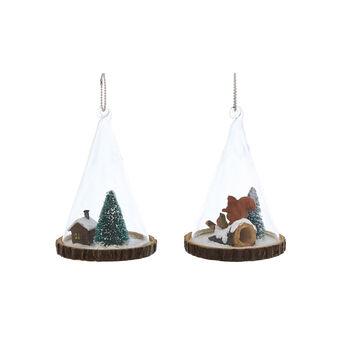 Hand-finished mini landscape cone
