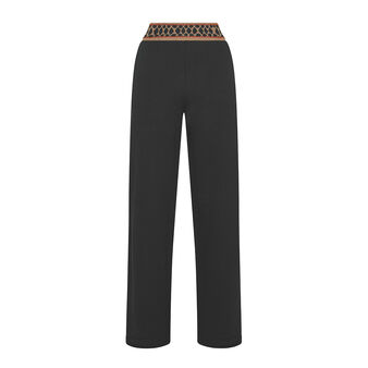 Pantalone felpa cintura animalier Koan