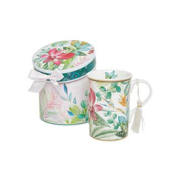 Mug new bone china decoro amazzonia