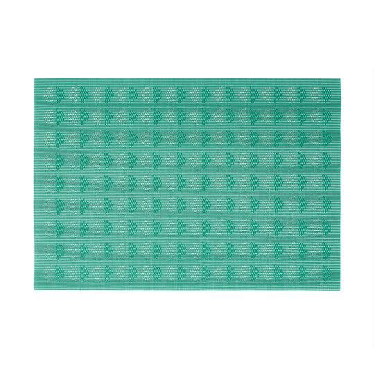 Rectangular PVC table mat