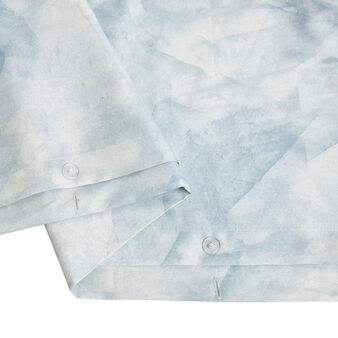 Copripiumino raso di cotone fantasia marmo