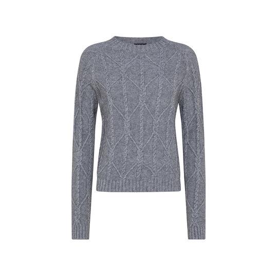 Turtleneck sweater braids