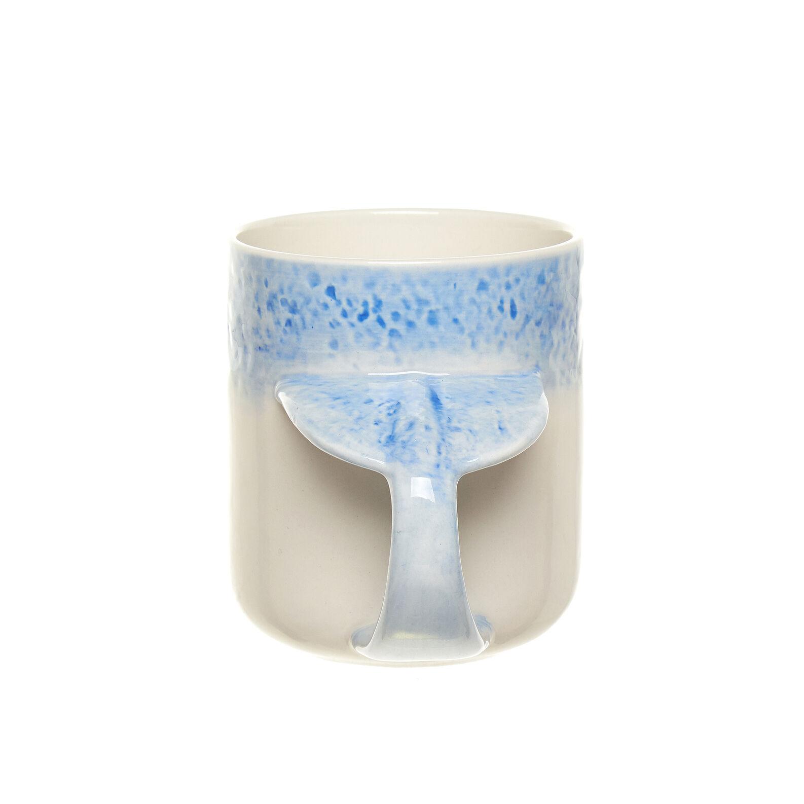 Mug ceramica manico balena