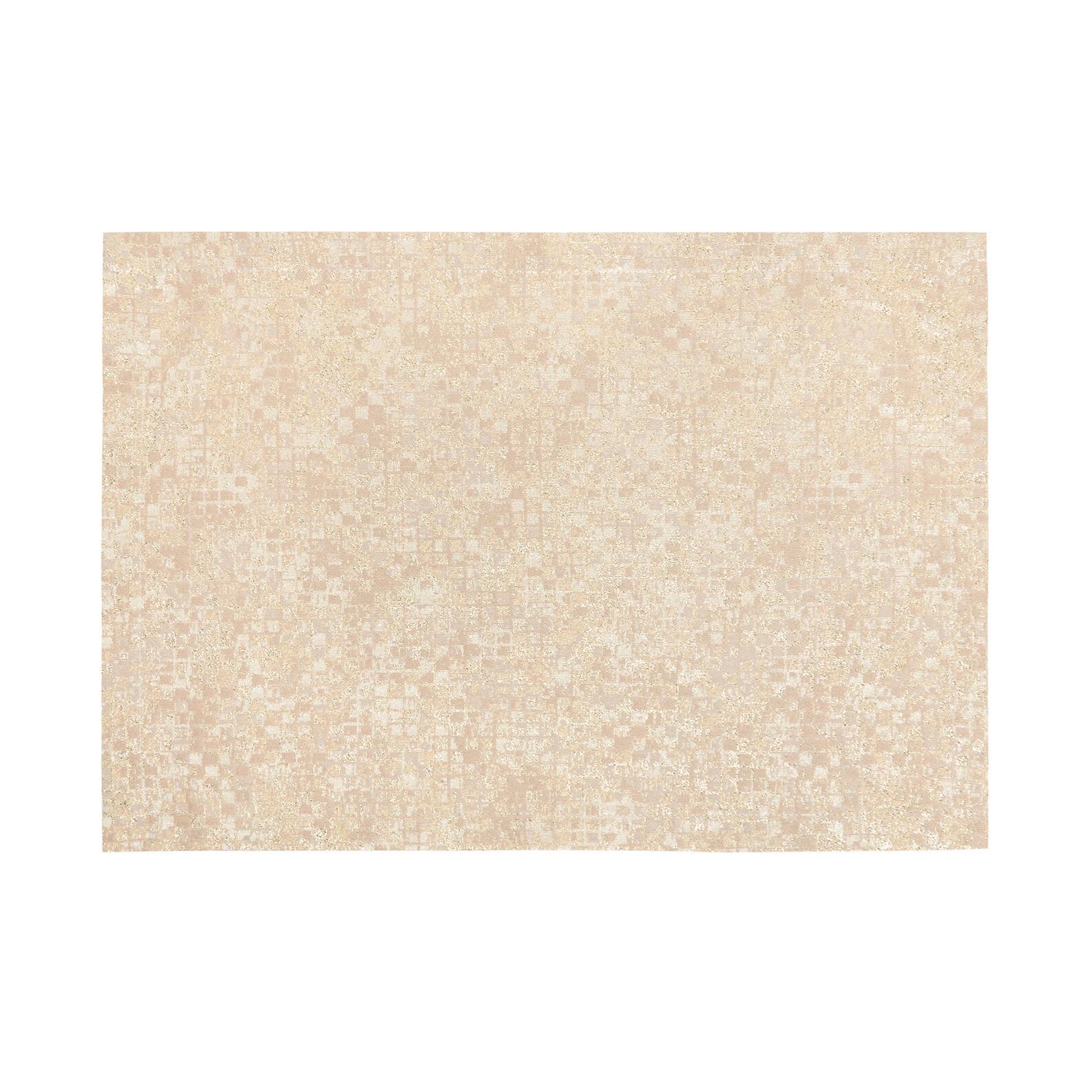 Tovaglietta misto cotone jacquard e lurex