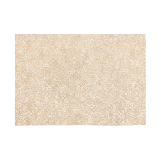 Lurex, jacquard and cotton blend table mat