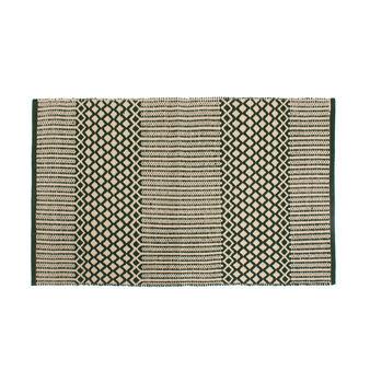 100% cotton jacquard kitchen mat