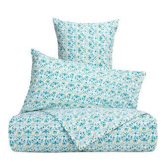 Multi-coloured flat sheet 100% cotton percale