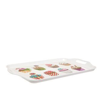 Melamine tray by Sandra Jacobs design
