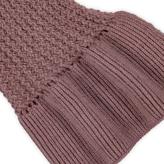 Koan scarf with rouches