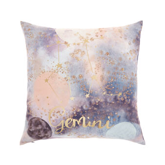 Cushion cover with Gemini print 45x45cm