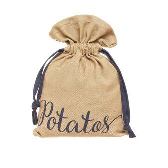 Sacchetto puro cotone Patate