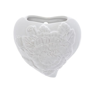 Ceramic heart-shaped humidifier for radiators