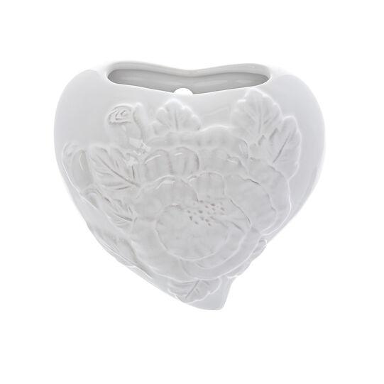 Umidificatore per ambiente in ceramica a cuore