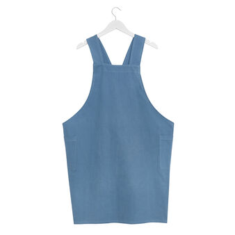 Solid colour 100% cotton apron