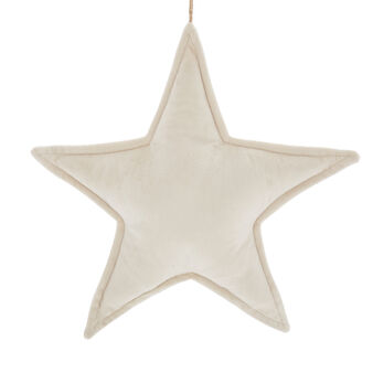 Addobbo stella in velluto