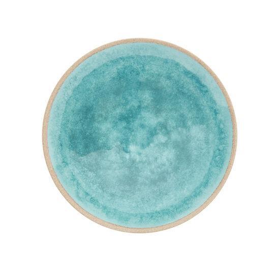 Solid colour melamine flat plate
