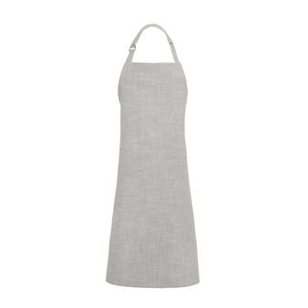 Stonewashed apron in 100% cotton