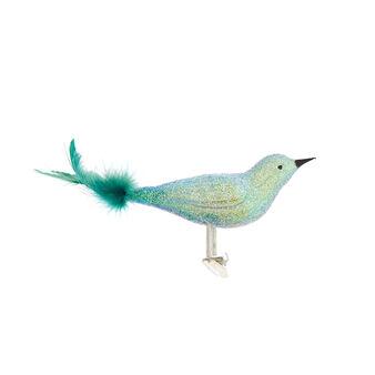 Uccellino vetro soffiato a bocca da artigiani europei