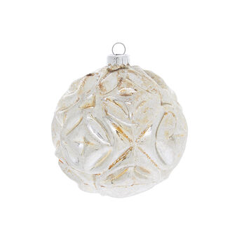 Onion bauble with raised motif
