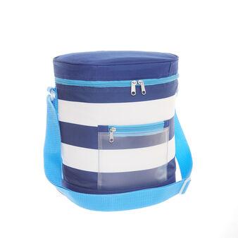 12L striped cooler bag