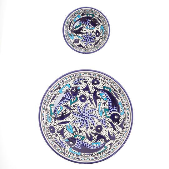 Insalatiera ceramica artigianale UNIDO