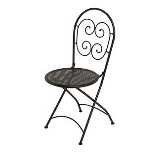 Fez folding chair in steel